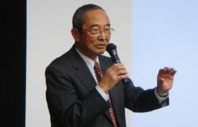 開会の挨拶(金川哲夫前理事長)
